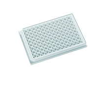 Krystal Polystyrene Opaque Body Clear Bottom 96-well Microplates 350µL