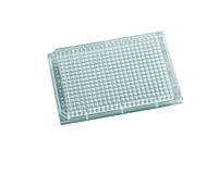 384-Well Assay Plate, Solid Bottom, Polystyrene, Clear