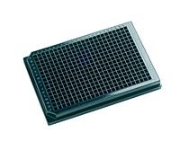 384-Well Assay Plate, Solid Bottom, Polystyrene, Black