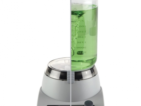 MagFuge® Magnetic Stirrer and Centrifuge in One Unit, Gray/Purple