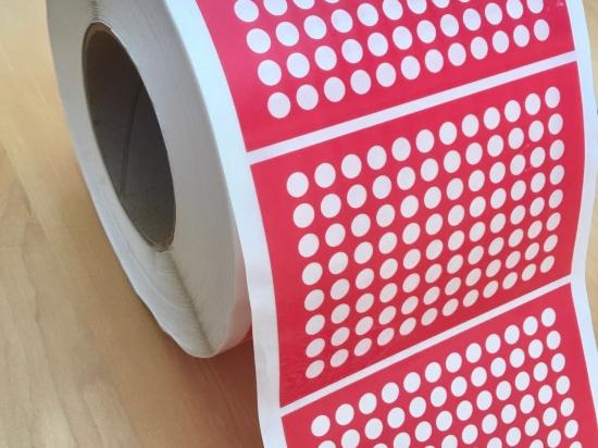 Pattern Adhesive PTFE Sealing Film Rolls