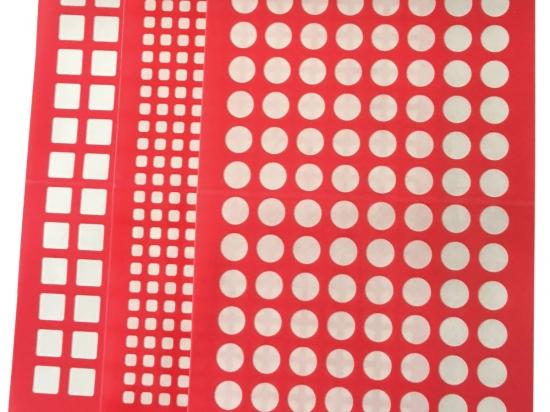 Silicone Pattern Adhesive Sealing Mats