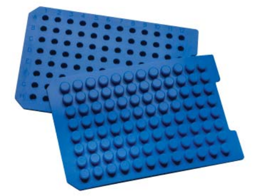 Sealing Mats with PTFE Spray Coating for 96-Round Well Plates