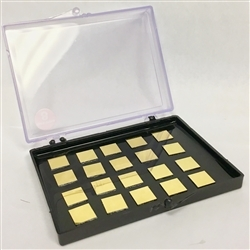 Platypus™ 10 x 10mm Silicon Chips Coated with Metals or Silica